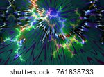 abstract background depicting... | Shutterstock . vector #761838733