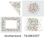 abstract background for... | Shutterstock .eps vector #761881057