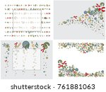 abstract background for... | Shutterstock .eps vector #761881063