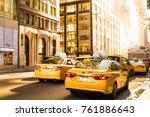 new york city   october 15 ... | Shutterstock . vector #761886643