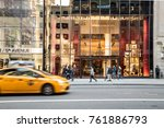 new york city   october 15 ... | Shutterstock . vector #761886793