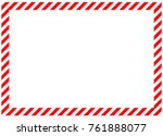 red diagonal bands along the... | Shutterstock . vector #761888077