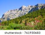 view of sainte victoire...   Shutterstock . vector #761930683