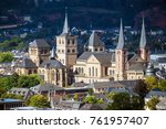 cathedral of saint peter  in... | Shutterstock . vector #761957407