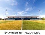 sport arena and sky | Shutterstock . vector #762094297