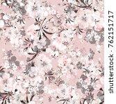 watercolor seamless pattern of... | Shutterstock . vector #762151717