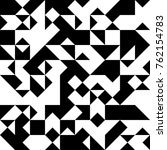 black and white  abstract... | Shutterstock .eps vector #762154783