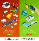 modern wireless technology... | Shutterstock . vector #762251347
