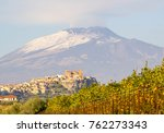 a wide angle image of mount... | Shutterstock . vector #762273343
