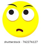 supersize face icon with yellow ... | Shutterstock .eps vector #762276127