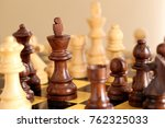 game of chess | Shutterstock . vector #762325033