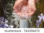 pure and healthy pure waters | Shutterstock . vector #762336673