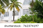 old hotel in malaysia in... | Shutterstock . vector #762374197