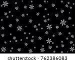 snow winter vector background... | Shutterstock .eps vector #762386083