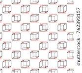 memphis abstract geometric... | Shutterstock .eps vector #762393157