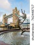 london  england   june 2016.... | Shutterstock . vector #762448717