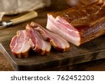 delicious artisanal whole...   Shutterstock . vector #762452203
