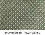 textile canvas fabric close up... | Shutterstock . vector #762498757