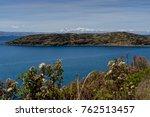 view across la isla del sol... | Shutterstock . vector #762513457