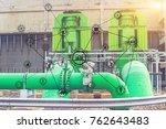 industry 4.0 concept image.... | Shutterstock . vector #762643483