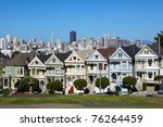 alamo square and san francisco...