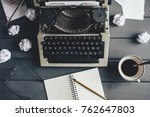 workplace with a boltnet and a...   Shutterstock . vector #762647803