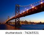 San Francisco Skyline And Bay...