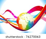 abstract colorful background... | Shutterstock .eps vector #76270063