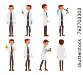 classic scientist vector.... | Shutterstock .eps vector #762703303