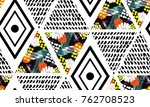 abstract grunge seamless... | Shutterstock .eps vector #762708523
