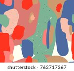 abstract art. colorful vector... | Shutterstock .eps vector #762717367