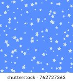 nice cartoon star pattern with... | Shutterstock . vector #762727363