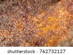 rust surface for background. | Shutterstock . vector #762732127