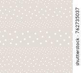 polka dot seamless pattern ... | Shutterstock . vector #762735037