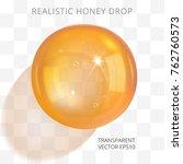 orange brown transparent drop... | Shutterstock .eps vector #762760573