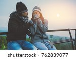 lover women and men asians... | Shutterstock . vector #762839077