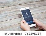 berlin  germany   november 26 ... | Shutterstock . vector #762896197
