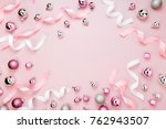 beautiful christmas background... | Shutterstock . vector #762943507