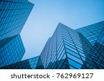 abstract and complex blue... | Shutterstock . vector #762969127