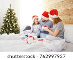happy family mother father and... | Shutterstock . vector #762997927