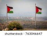 rawabi  palestinian authority ...   Shutterstock . vector #763046647