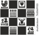 endless pattern with...   Shutterstock .eps vector #763069933