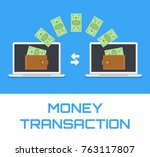money transfer transaction...