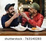craft beer booze brew alcohol... | Shutterstock . vector #763140283
