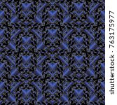 vintage floral seamless pattern....   Shutterstock .eps vector #763175977