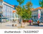 lisbon  portugal  september 2 ... | Shutterstock . vector #763209007