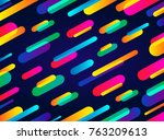 dynamic abstract background... | Shutterstock .eps vector #763209613