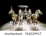 xi 'an  china   on october 17 ... | Shutterstock . vector #763229917
