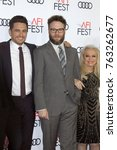 "Small photo of LOS ANGELES - NOV 12: James Franco, Seth Rogen, Jacki Weaver at the AFI FEST 2017 ""The Disaster Artist"" Screening at the TCL Chinese Theater IMAX on November 12, 2017 in Los Angeles, CA"