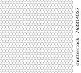 hexagon seamless vector texture.... | Shutterstock .eps vector #763314037